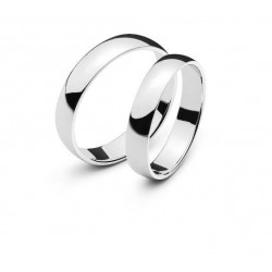Alliances or blanc 750/18 ct. env. 5mm